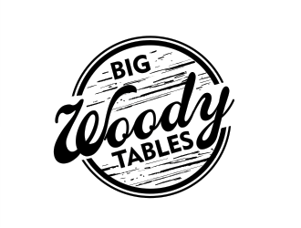 Big Woody Tables logo design