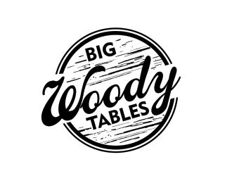 Big Woody Tables logo design