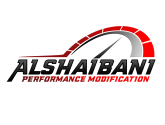 Alshaibani performance modification logo design