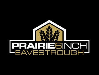 Prairie 6 Inch Eavestrough logo design