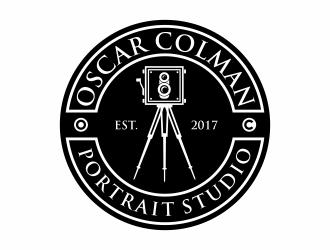 Oscar Colman Portrait Studio logo design