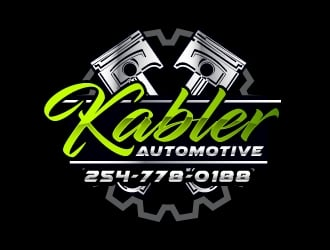 Kabler Automotive logo design