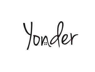 YONDER logo design