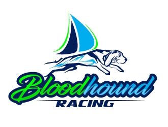 Bloodhound Racing logo design