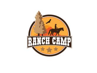 Ranch Camp logo design