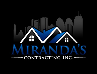 Mirandas contacting inc. logo design