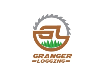 Granger Logging logo design winner