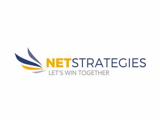 NetStrategies logo design