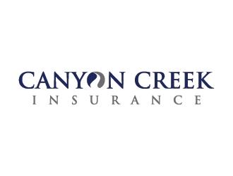 Canyon Creek Insurance  logo design