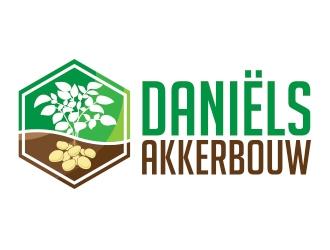 Daniëls Akkerbouw logo design