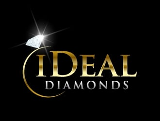 iDeal Diamonds logo design