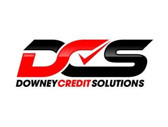 Downey Credit Solutions logo design