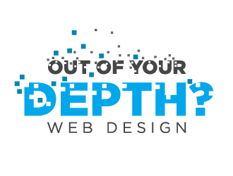 Out of Your Depth? logo design