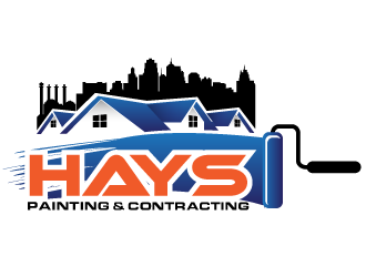 Hays Painting & Contracting logo design