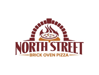 NORTH STREET - Brick Oven Pizza logo design