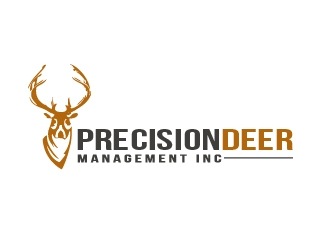 Precision Deer Management Inc logo design