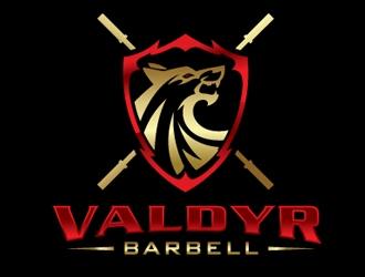 Valdyr Barbell logo design