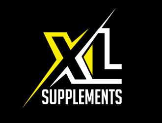 XL supplements logo design