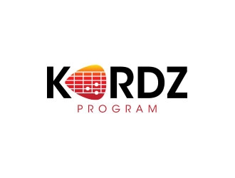KORDZ program logo design