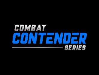 COMBAT CONTENDER SERIES logo design