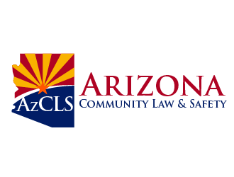 Arizona Community Law & Safety logo design