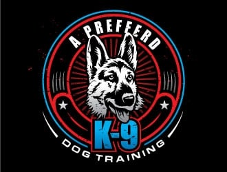 A Prefferd K-9 logo design