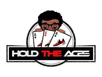 Hold The Aces  logo design
