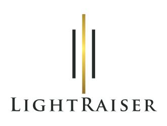 LightRaiser logo design