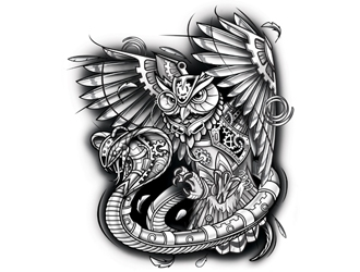 Tattoo Logo Design For Your Tattoo Shop 48hourslogo Com
