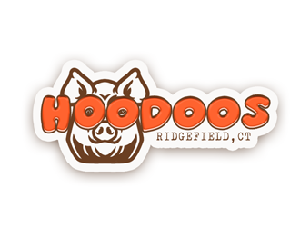 Hoodoo Brown BBQ logo design