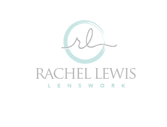 Rachel Lewis Lenswork logo design