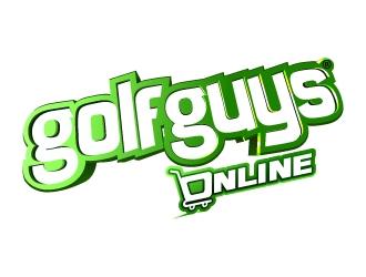 GolfGuys Online logo design