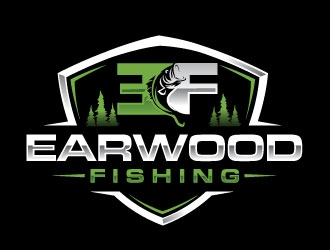 Earwood Fishing logo design