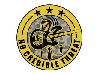 No Credible Threat logo design