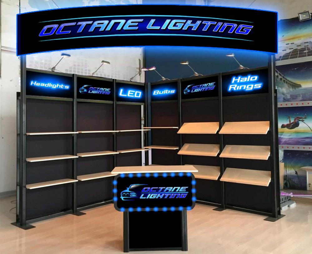 OCTANE LIGHTING logo design