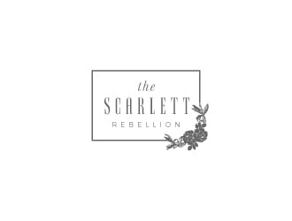 The Scarlett Rebellion logo design