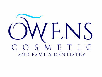 Owens Cosmetic and Family Dentistry logo design