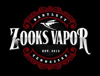 Zooks Vapor logo design