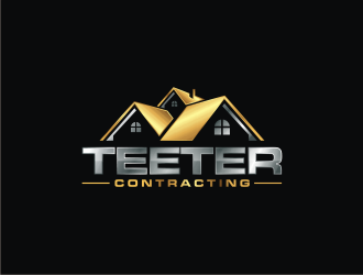 Teeter Contracting logo design