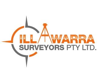 illawarra surveyors pty ltd. logo design