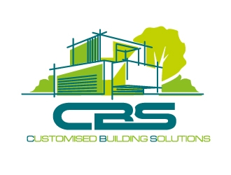 Customised Building Solutions logo design