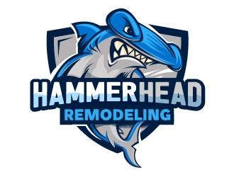HammerHead Remodeling  logo design