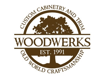 Woodwerks Inc. logo design