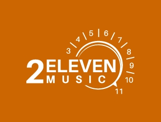 2Eleven Music logo design