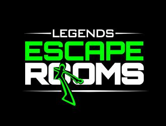 Escape Rooms of Brandon    By: Legends  logo design