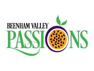 Beenham Valley Passions logo design