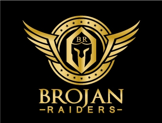 Brojan Raiders logo design