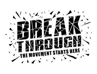 Break Through logo design
