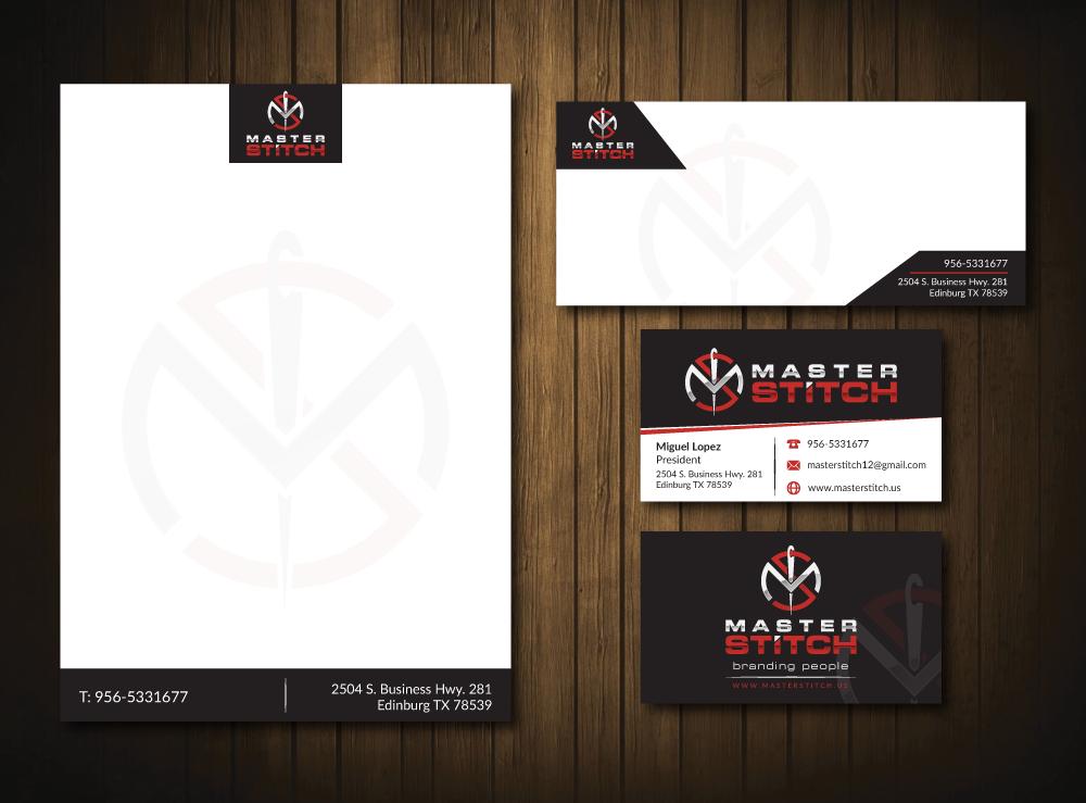 MasterStitch logo design