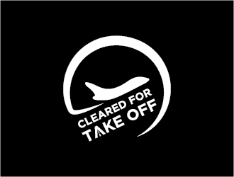 Cleared For Take Off logo design